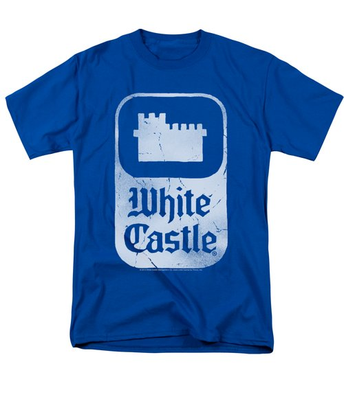 White Castle - Classic Logo Men's T-Shirt  (Regular Fit) by Brand A