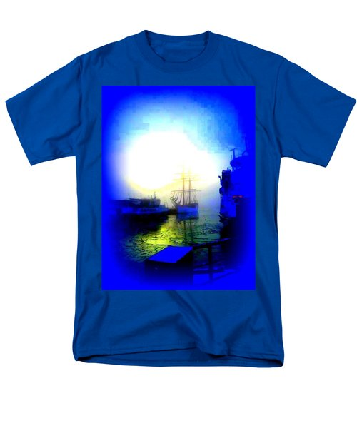 Winter harbour T-Shirt by Hilde Widerberg