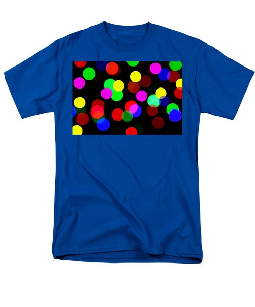 Colorful Bokeh T-Shirt by Paul Ge