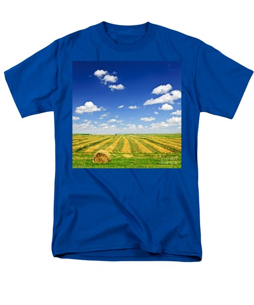 Wheat farm field at harvest T-Shirt by Elena Elisseeva