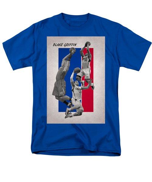 Blake Griffin Los Angeles Clippers Men's T-Shirt  (Regular Fit) by Joe Hamilton