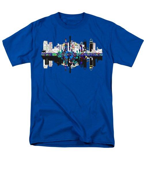 Tokyo Skyline Men's T-Shirt  (Regular Fit) by John Groves