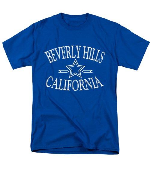 Beverly Hills California - Tshirt Design Men's T-Shirt  (Regular Fit) by Art America Online Gallery