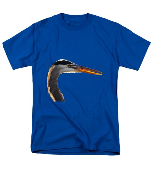 Bright Beak Blue .png Men's T-Shirt  (Regular Fit) by Al Powell Photography USA