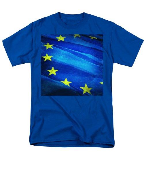 European flag T-Shirt by Setsiri Silapasuwanchai