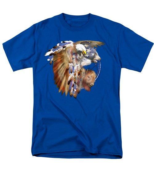 Freedom Lives Men's T-Shirt  (Regular Fit) by Carol Cavalaris
