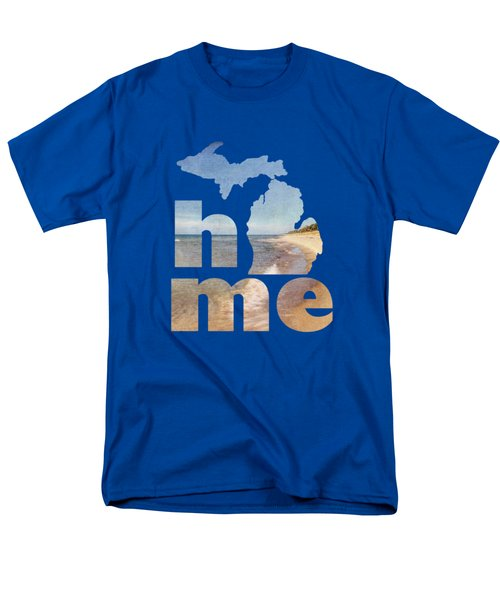 Michigan Home Men's T-Shirt  (Regular Fit) by Emily Kay