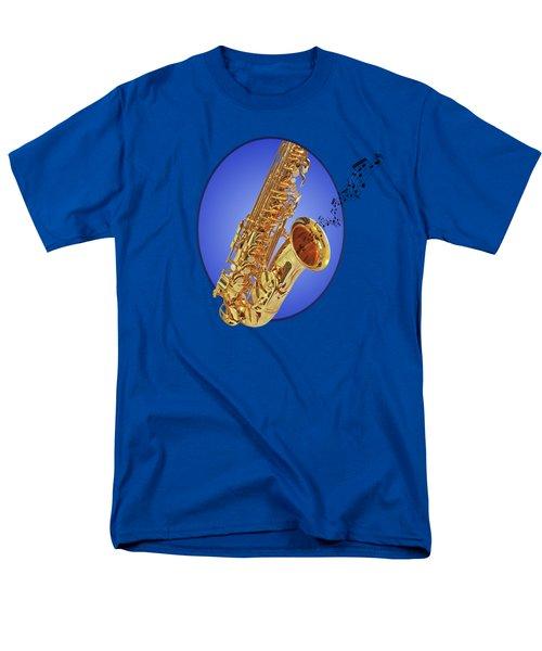 Midnight Blues Men's T-Shirt  (Regular Fit) by Gill Billington