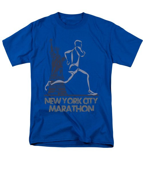 New York City Marathon3 Men's T-Shirt  (Regular Fit) by Joe Hamilton