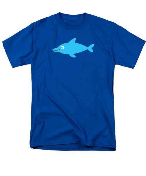 Pbs Kids Dolphin Men's T-Shirt  (Regular Fit) by Pbs Kids