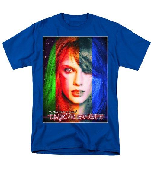 Taylor Swift - Sparks Alt Version Men's T-Shirt  (Regular Fit) by Robert Radmore