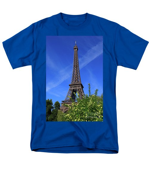 The Eiffel Tower in Spring T-Shirt by Louise Heusinkveld