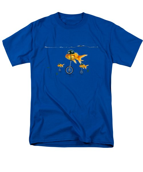 The Race  Men's T-Shirt  (Regular Fit) by Mark Ashkenazi