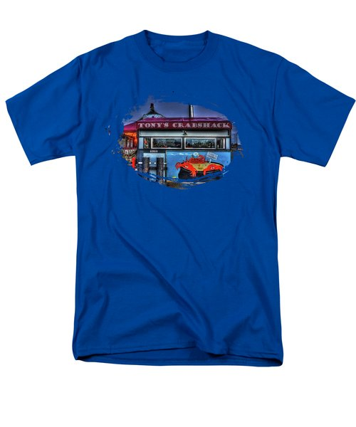 Tonys Crabshack Men's T-Shirt  (Regular Fit) by Thom Zehrfeld