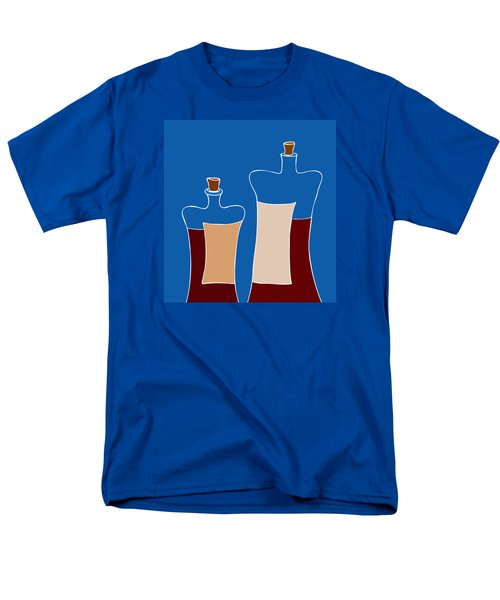 Wine Bottles T-Shirt by Frank Tschakert