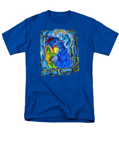 Yeti And The Mermaid Series I Don't You See? Men's T-Shirt  (Regular Fit) by Joanna Whitney