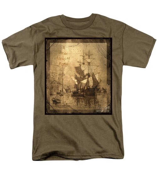 A Pirate Looks At Forty T-Shirt by John Stephens