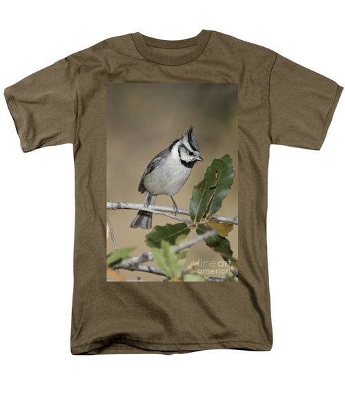 Bridled Titmouse Men's T-Shirt  (Regular Fit) by Anthony Mercieca