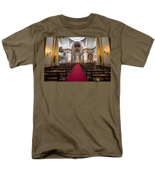 Church of Santa Barbara Interior in Madrid T-Shirt by Artur Bogacki