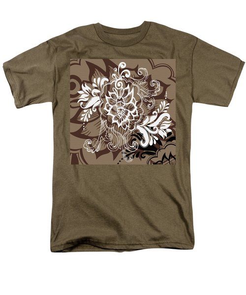 Coffee Flowers 10 T-Shirt by Angelina Vick