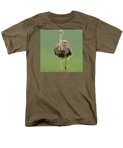 Emu Men's T-Shirt  (Regular Fit) by Ellen Henneke