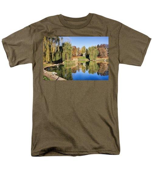 Moczydlo Park in Warsaw T-Shirt by Artur Bogacki