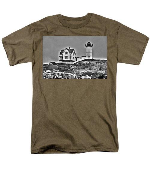 Nubble Lighthouse Cape Neddick Maine T-Shirt by Glenn Gordon