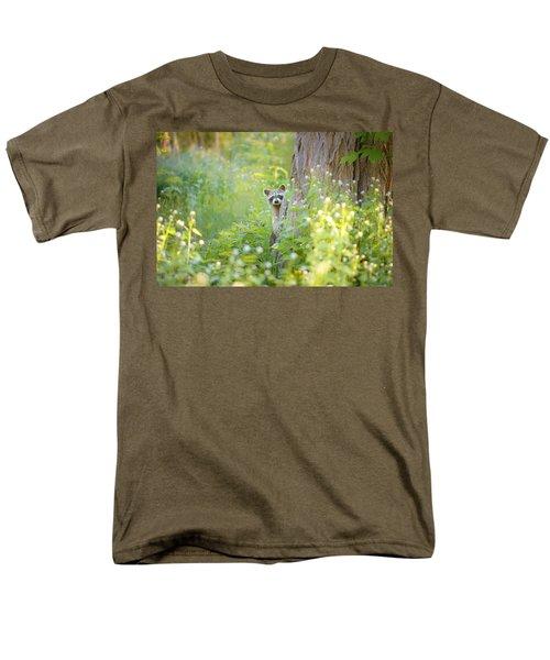 Peek A Boo Men's T-Shirt  (Regular Fit) by Carrie Ann Grippo-Pike
