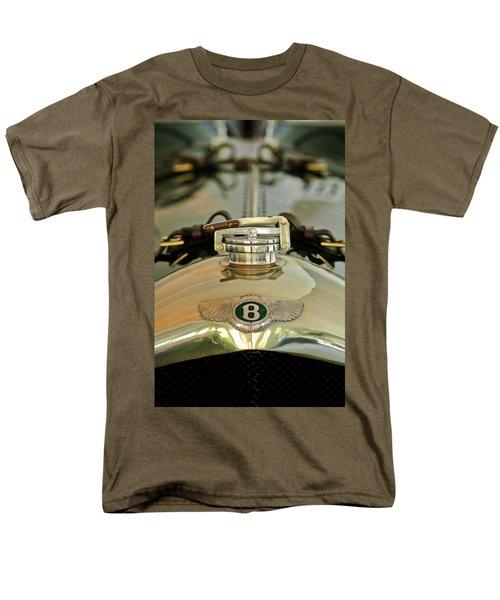 1925 Bentley 3-Liter 100mph Supersports Brooklands Two-Seater Radiator Cap T-Shirt by Jill Reger