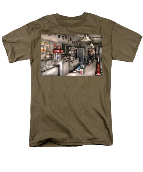 1950's - The Soda Fountain T-Shirt by Mike Savad