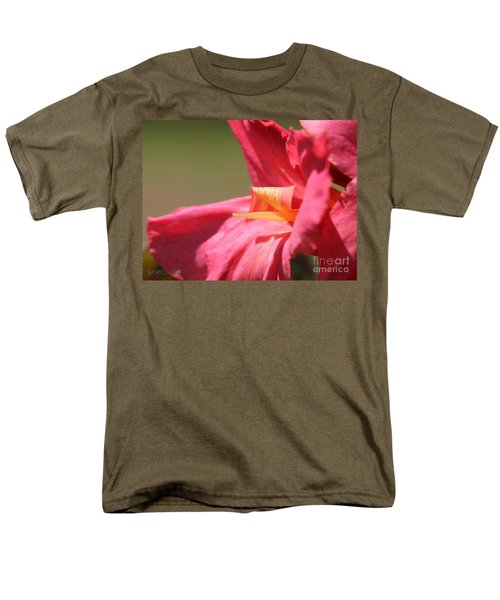 Dwarf Canna Lily named Shining Pink T-Shirt by J McCombie