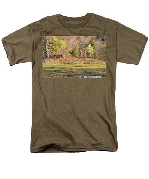 Maine Blueberry Field In Spring T-Shirt by Keith Webber Jr