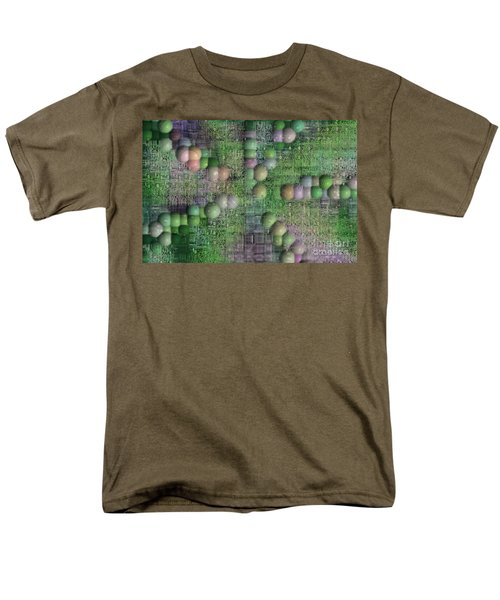 technology abstract background T-Shirt by Michal Boubin