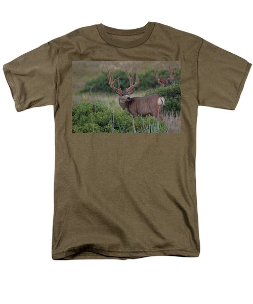 Two in the Bush T-Shirt by Jim Garrison