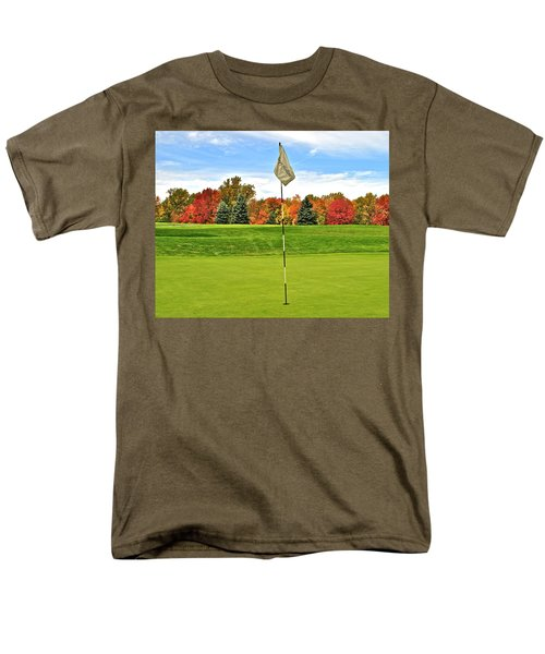 Autumn Golf T-Shirt by Frozen in Time Fine Art Photography