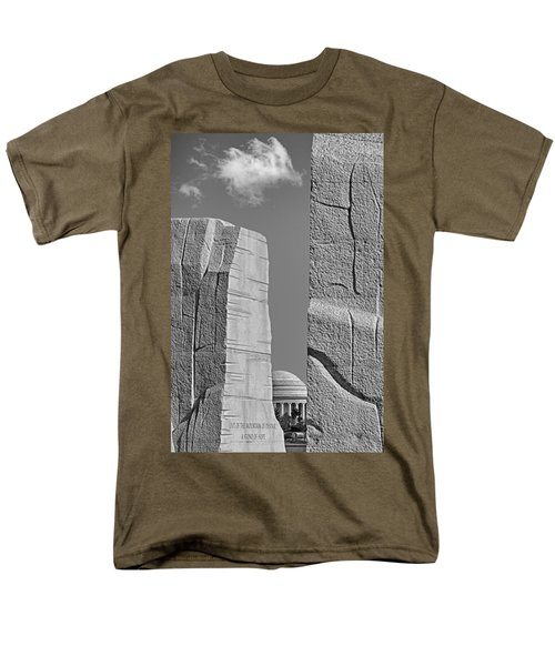A Stone Of Hope BW T-Shirt by Susan Candelario