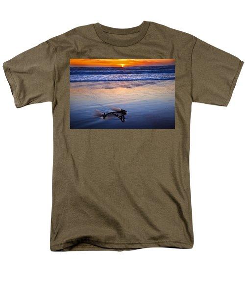 Anchor Ocean Beach T-Shirt by Garry Gay