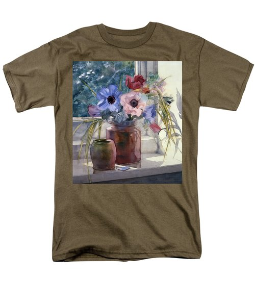 Anemones T-Shirt by Julia Rowntree