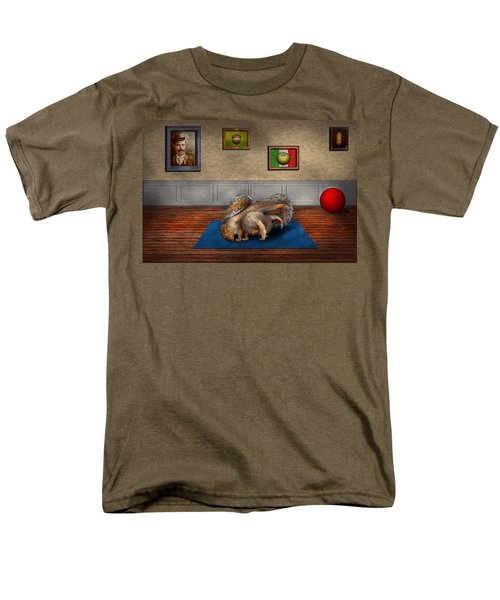 Animal - Squirrel - And stretch Two Three Four T-Shirt by Mike Savad