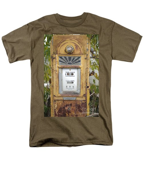 Antique Gas Pump T-Shirt by Peter French