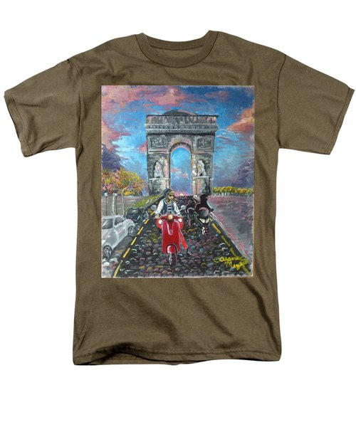 Arc De Triomphe Men's T-Shirt  (Regular Fit) by Alana Meyers