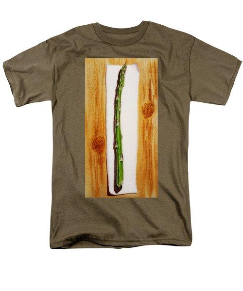Asparagus Tasty Botanical Study Men's T-Shirt  (Regular Fit) by Irina Sztukowski