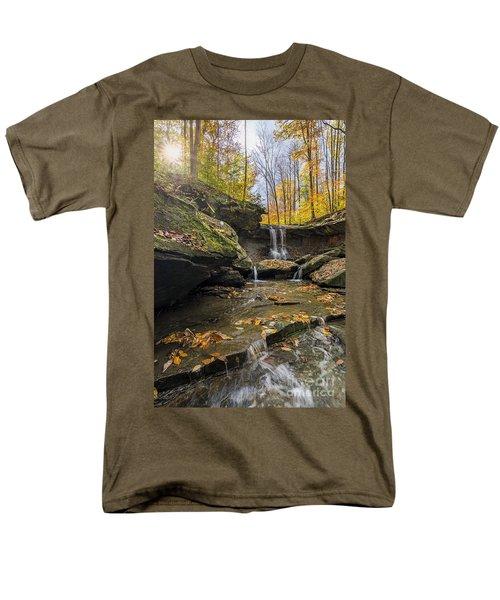 Autumn Flows Men's T-Shirt  (Regular Fit) by James Dean