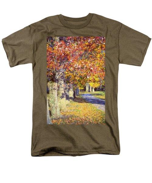 Autumn In Hyde Park Men's T-Shirt  (Regular Fit) by Joan Carroll