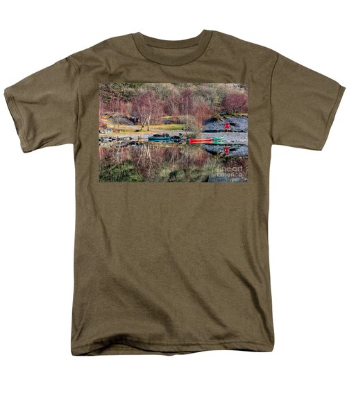 Autumn Reflections T-Shirt by Adrian Evans