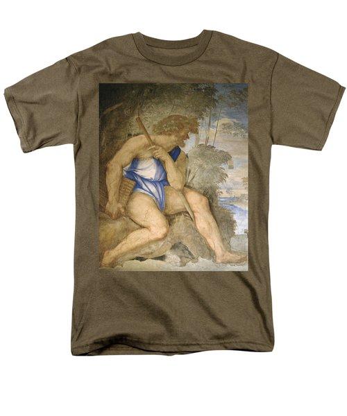 Baldassare Peruzzi 1481-1536. Italian Architect And Painter. Villa Farnesina. Polyphemus. Rome Men's T-Shirt  (Regular Fit) by Baldassarre Peruzzi