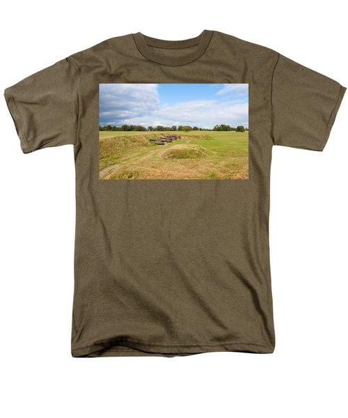 Battle of Yorktown Battlefield T-Shirt by John Bailey