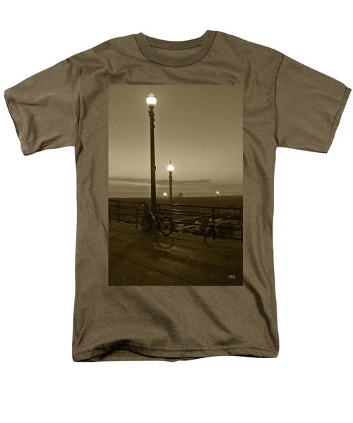 Beach At Night T-Shirt by Ben and Raisa Gertsberg