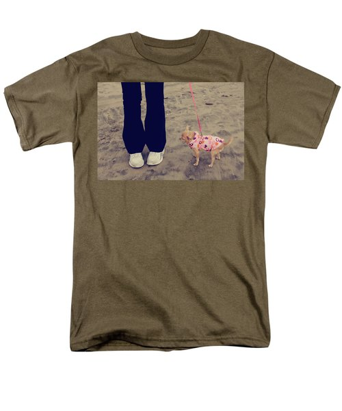Beach Walk T-Shirt by Laurie Search