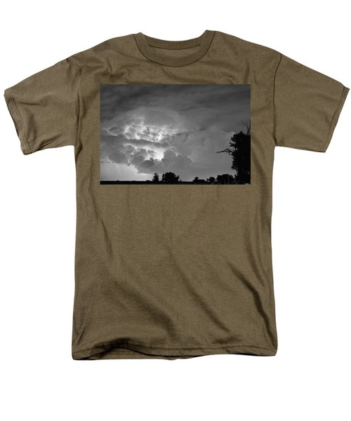 Black and White Light Show T-Shirt by James BO  Insogna